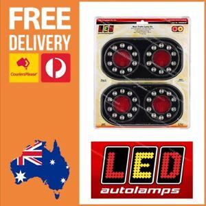 LED Autolamps 12V LED Trailer Lights Submersible Plug & Play Trailer Lights LED