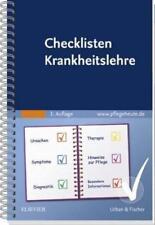 Checklisten Krankheitslehre (2015, Ringbuch)