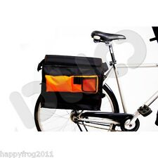 Go!Travel Cycling Bike Bicycle Rear Back Pannier Laptop File Bag Rain Dust Cover