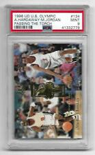 1996 UPPER DECK U.S.A OLYMPICARD REFLECTIONS OF GOLD RG1 MICHAEL JORDAN PSA 9