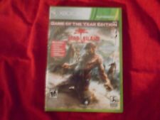 DEAD ISLAND GAME OF THE YEAR EDITION PLATINUM HITS XBOX 360 FACTORY SEALED!!!