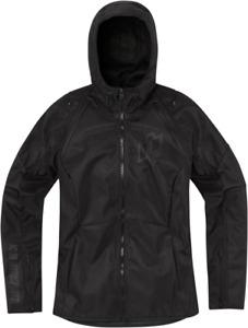 Icon Women's Airform Jacket Medium Black 2822-1401