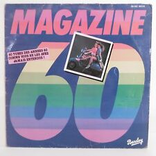 """33T MAGAZINE 60 Disque Vinyle LP 12"""" 60 TUBES DES ANNEES 60 Vespa BARCLAY 200178"""