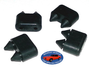 68 69 70 71 72 Rubber Door Bumpers GTO Lemans Chevelle 442 GS GSX Cutlass 4pc B