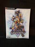Kingdom Hearts II 2 PS2 Strategy Guide Book Bradygames Signature Series