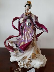 Franklin Mint 'The Dragon King's Daughter' Figurine by Caroline Young L/Edition