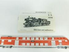 BD142-0, 1 #märklin H0 Description for 3098 Steam Locomotive 38 1807 P 8/P8 DB