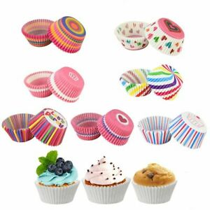 100Pieces/set Muffin Coatings Cupcake Paper Cups Cake Baking Case Cake Molds