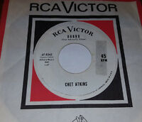 CHET ATKINS Freight Train / Dobro WHITE LABEL PROMO 45 Rca Victor 47-8342 1964