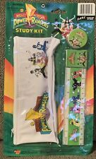 NIB Mighty Morphin Power Rangers Study Kit- New Old Stock-  Age Starting To Open