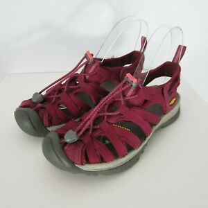 KEEN Newport H2 Womens 6 M Magenta Pink Sport Waterproof Hiking Sandals Purple