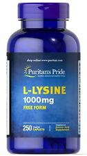 Puritan's Pride L-Lysine 1000 mg - 250 Caplets