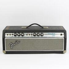 1968 Fender Drip Edge Bassman Head Silverface