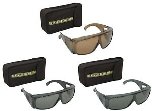 SUNSHIELDS Atlantis Moulded Plastic Fishing Sunglasses Tinted Polarised Lens