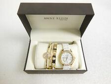 Anne Klein New York Stainless Steel Watch Set (Retail Box) *White*