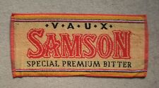 Vaux Samson Premium Bitter Beer Bar Towel Pub Home Bar Man Cave New Unused