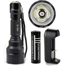 Tactical 10000LM Rechargeable T6 Flashlight  LED Waterproof Torch Camping Light