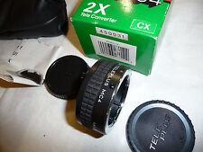 Camera lens TELECONVERTER X 2 - 24 for YASHICA SLR TELEPLUS MC4 .. X16