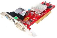 NEW ATI RADEON 9200 128MB 64-Bit PCI Scheda Grafica VGA DVI TV-OUT Pc