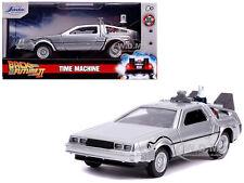 "Delorean Dmc (Time Machine) ""Back To The Future 2"" 1/32 Diecast Car Jada 30541"