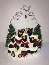 Bearfoots Choir of Bears Jeff Fleming 1996-2005 Black Cubs Caroling Christmas