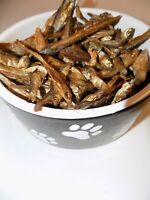 Dried Sprats  100% Natural Fish Dog Treat Chew High In Omega 3 BARF