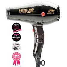 PARLUX 385 POWER LIGHT IONIC AND CERAMIC Black HAIRDRYER