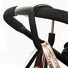1x Baby Pushchair Pram Stroller Clip Hook Buggy Carabiner Diaper Bag Hanger New