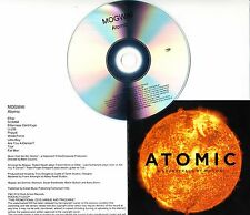 MOGWAI Atomic 2016 UK watermarked & numbered 10-track promo CD