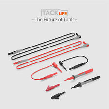 Multi-meter test leads Alligator clips Probe plunger Mini hooks Clamp meters ext