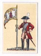 34/364 SAMMELBILD STANDARTE der bayr. Leibdragoner 1784