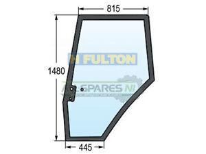 Massey Ferguson Left Side Door Window Glass (61,62,64,74,81 Series) - 3907221M1