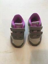 Adidas Neo Comfort footbed. Baby/Toddler 4k Pre-loved Purple White And Gray