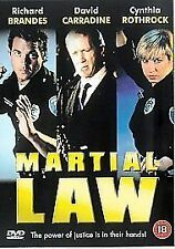 Martial Law [DVD] - DVD  3YVG The Cheap Fast Free Post