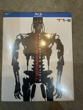 Terminator 6-Film Collection Blu-Ray + Slipcover Brand-New Sealed Anthology