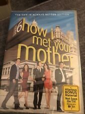 How I Met Your Mother: The Complete Season 6 (DVD, 2011, 3-Disc Set) sealed new
