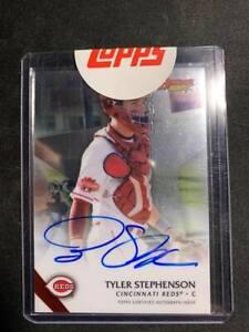 2015 Bowman's Best Tyler Stephenson AUTO on card...