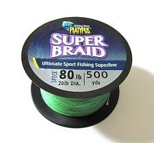 Platypus SUPER BRAID 80lb/300yds (dia 20lb) Marlin, Tuna, Shimano, Penn
