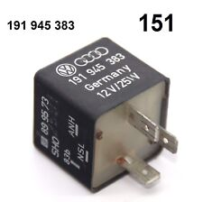 AUDI 100 a6 (c4) RELAIS Nº 151 191945383 Brouillard Final Luminaire FZG avec attelage
