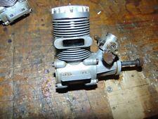 WEBRA SPEED 61 ENGINE & MUFFLER OIL STAINED RUNS OK SUIT VINTAGE HELI