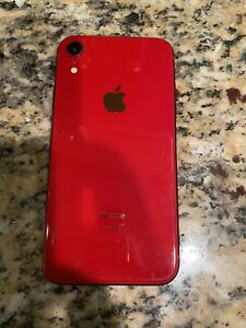 Apple iPhone XR (PRODUCT)RED - 64GB - (Unlocked)