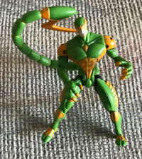 "MARVEL SPIDER-MAN WEB TRAP SINISTER SCORPION 5"" FIGURE TOYBIZ 1997"