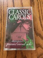 Classic Carols Piano Vocal Solo Cassette Ships N 24h