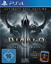 *** DIABLO 3 Reaper of Souls-ULTIMATE EVIL EDITION *** ps4 *** NUOVO & SCATOLA ORIGINALE ***