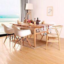 Weißer Esszimmerstuhl Sessel Retro Sessel Küchenstühle Wohnzimmerstühle ChairX 4