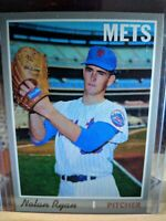 Nolan Ryan 2019 Topps Baseball Iconic Card 1970 Mets ICR-80