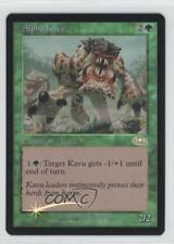 2001 Magic: The Gathering - Planeshift Booster Pack Base Foil #77 Alpha Kavu 1i3