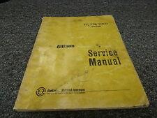 Detroit Diesel Allison Transmission TT2220-1 TT2420-1 Shop Service Repair Manual