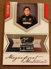Magnificent Materials Nelson Piquet Jr. Shoe Card