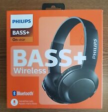 PHILIPS BASS+ BLUETOOTH WIRELESS ON EAR HEADPHONE SHB3075 - NEW SEALED